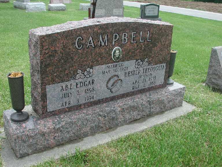 Clarence Campbell Sarah Rector